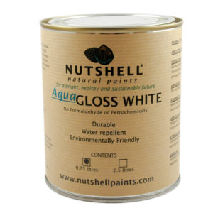 Aqua Gloss and Satin White Eco Paint