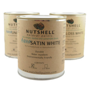 Aqua Satin White Eco Paint