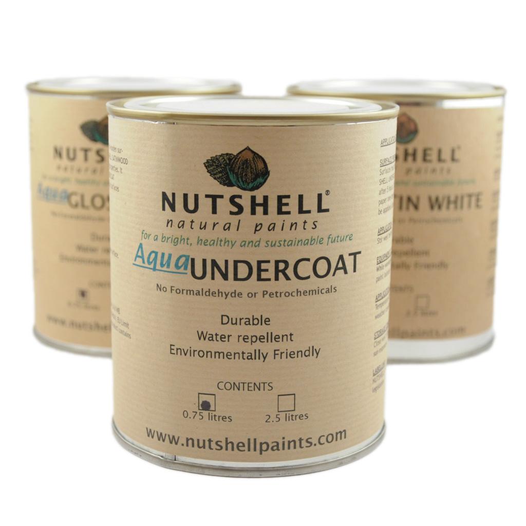 Aqua Undercoat Nutshell Natural Paints