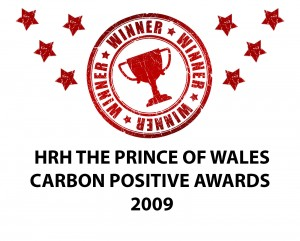 Carbon Positive Awards Winner