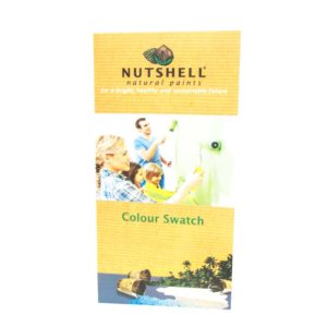 Nutshell Natural Paints Colour Swatch Book
