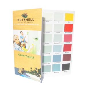Colour Swatch Book - Nutshell Natural Paints