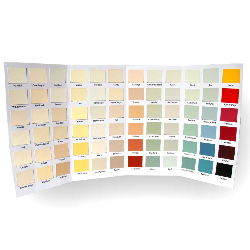 Nutshell Paint Colour