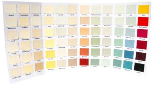 Natural Paints Colour Chart